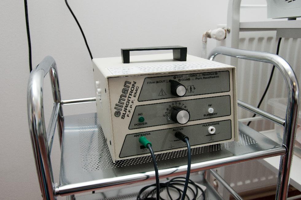 Radiocauter